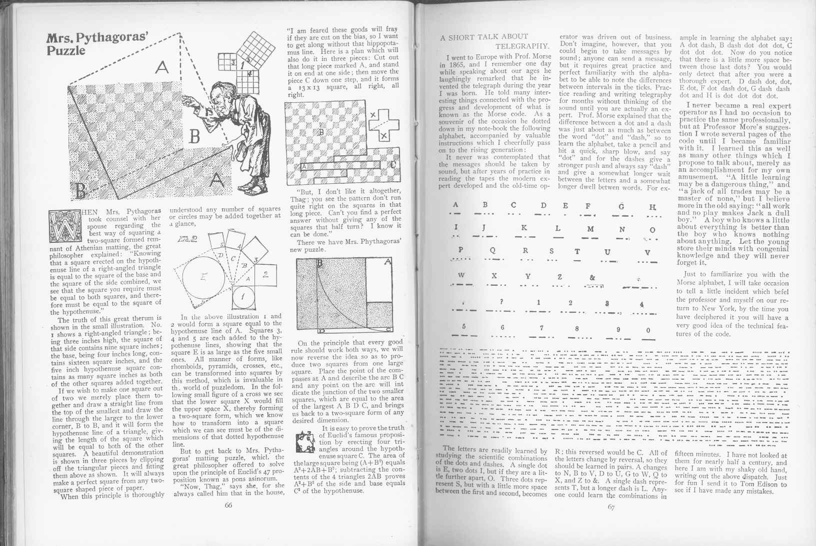 Sam Loyd - Cyclopedia of Puzzles - page 66-67