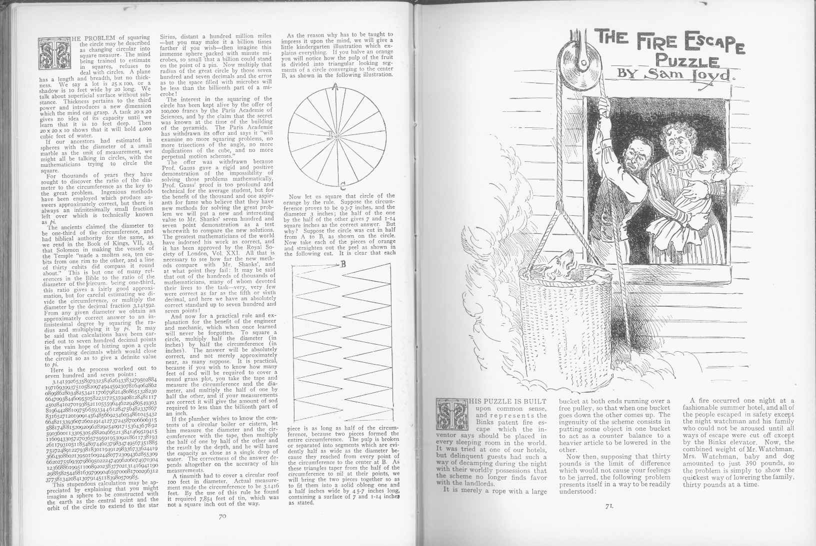 Sam Loyd - Cyclopedia of Puzzles - page 70-71