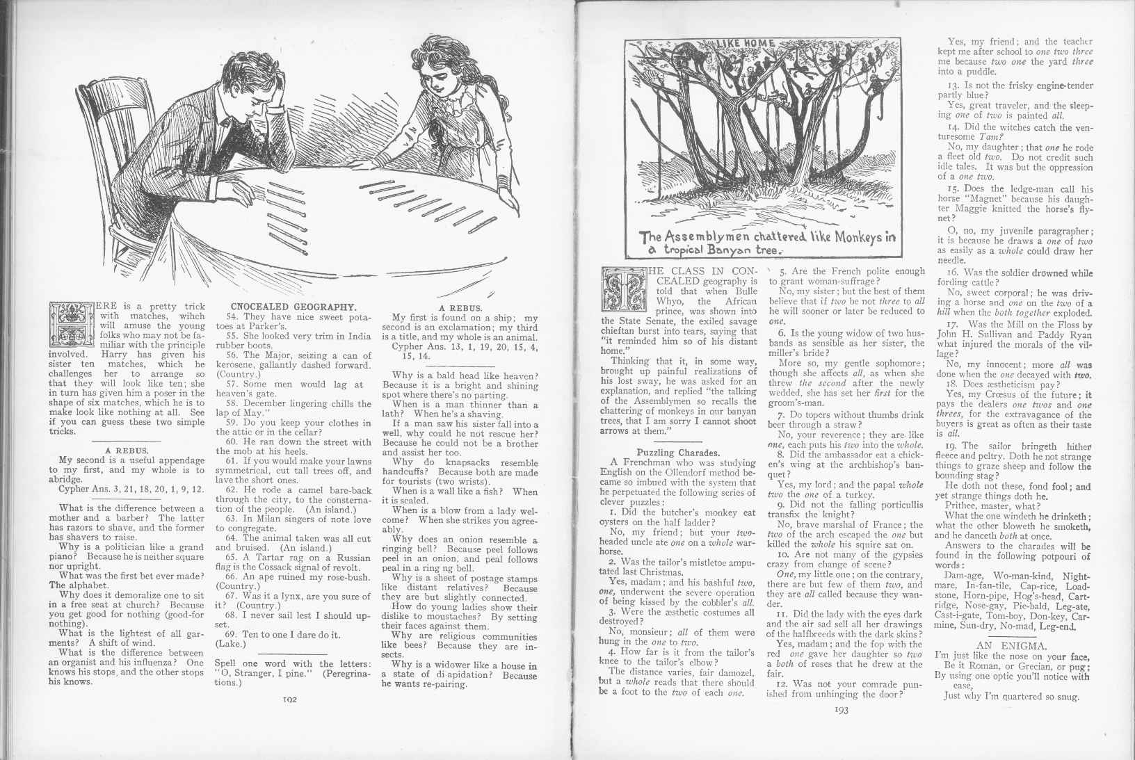 Sam Loyd - Cyclopedia of Puzzles - page 192-193