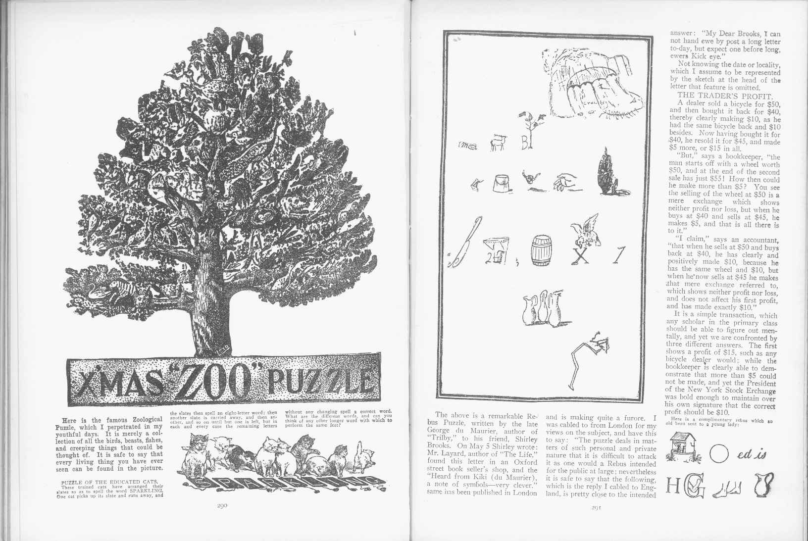 Sam Loyd - Cyclopedia of Puzzles - page 290-291
