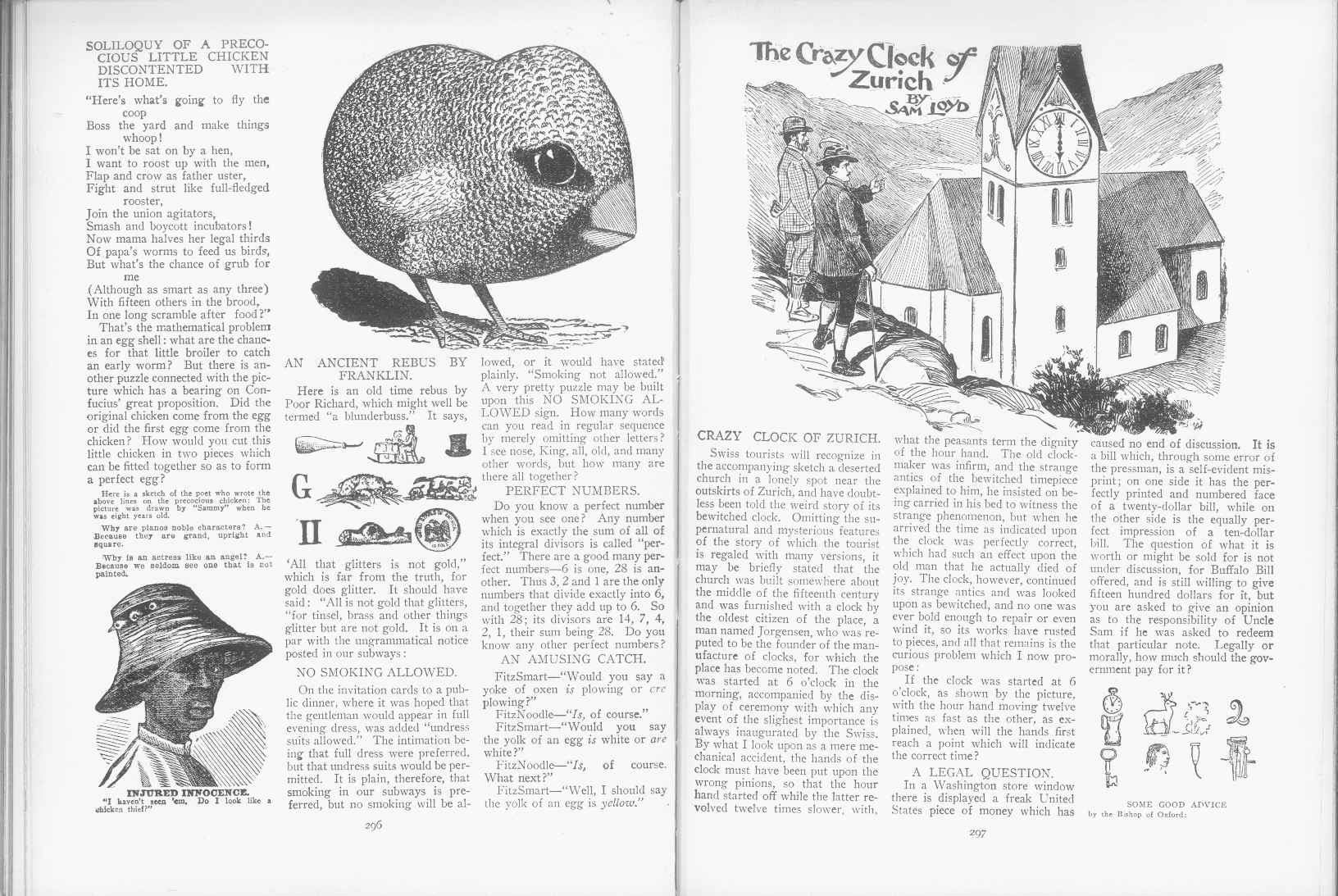Sam Loyd - Cyclopedia of Puzzles - page 296-297